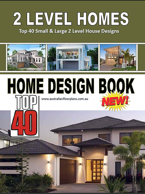 2 Story ( Storey ) House Plans Book