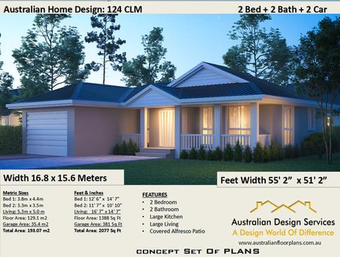 124CLM Kithome Plan