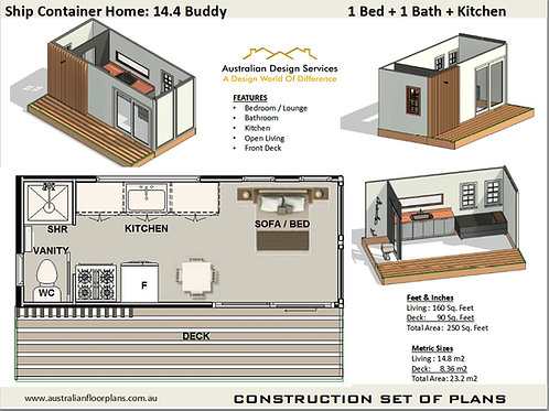 Shipping Container Home: 20Ft Buddy