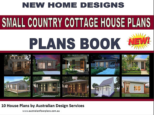 Small Country Cottage House Plans - 10 House Plans Book