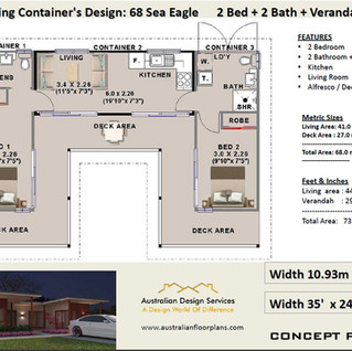 68SEA-EAGLE-Ship Container Home