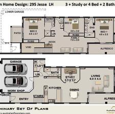 295 Jesse 2 Storey House Plan