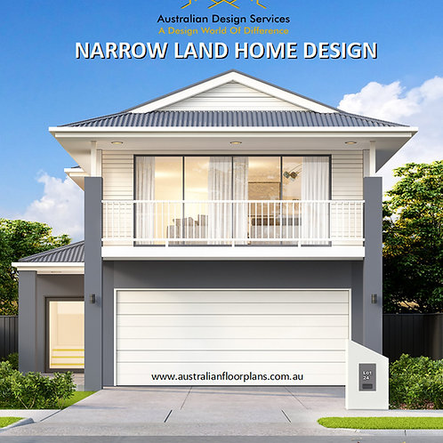 Narrow Lot house plans :321.0 m2  | 321Keen Preliminary Home Plans