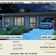 59 Tamika Free 2 Bed House Plan Australia
