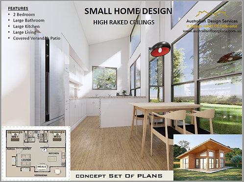 Modern Home Design 2 bedroom : 87.7 Lodge
