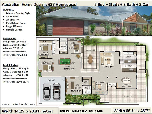 Homestead!  Country house designs and floor plans  | 198KR House Plans
