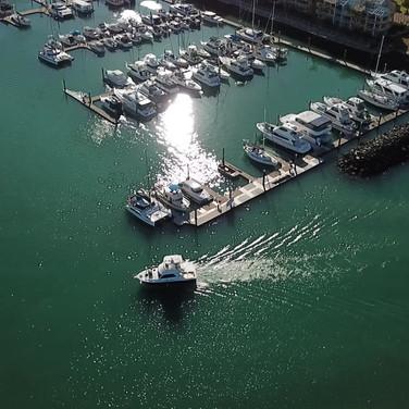Harbour Drone photo - Images Harvey Bay Queensland