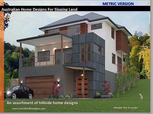 E-Book Hillside House Floor Plans