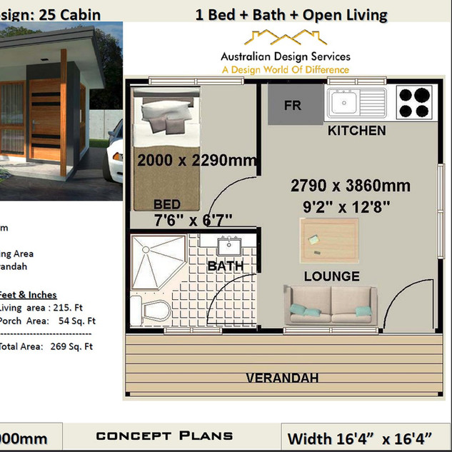 25 Cabin Free House Plan
