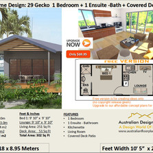 Free Small and Tiny Park Cabins House plan