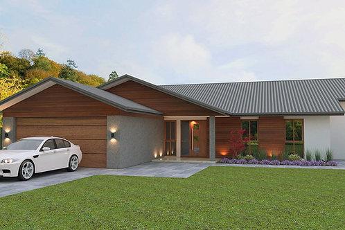 Australian split level 4 Bedroom + Garage  | 232 Split Level House Plans