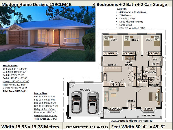 4 bedroom kit home Australia
