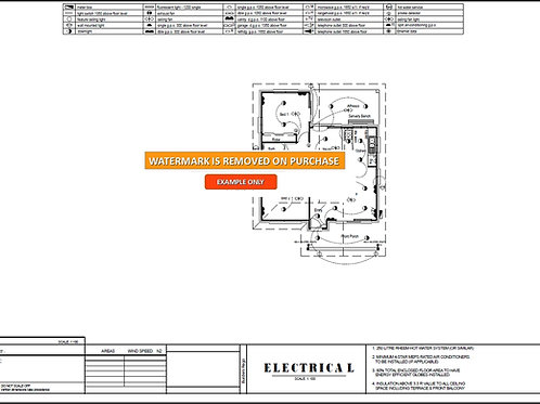 73gr House Design - Electrical Plan