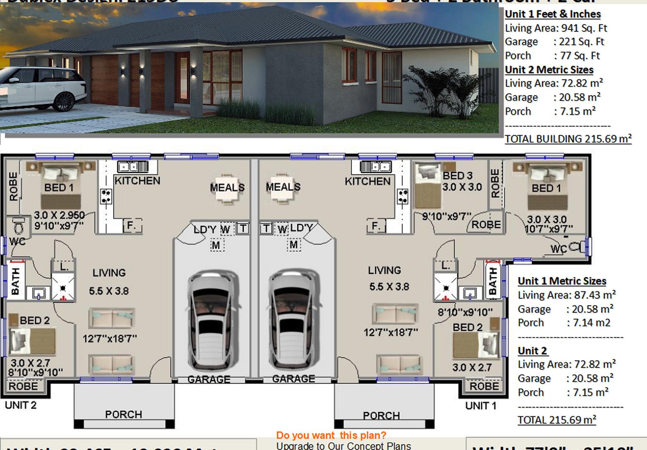 duplex design australia