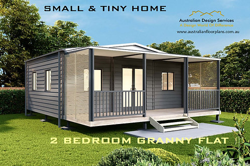 Small & Tiny Country Cabin Design: 54.5