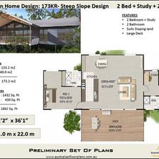 173kr-2 Bedroom House Plan
