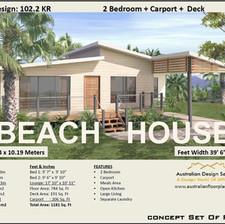 2 Bedroom Beach House -Free Version
