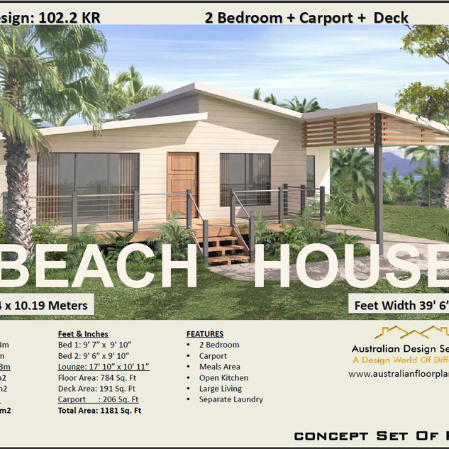 2 Bedroom Beach House -Free Version