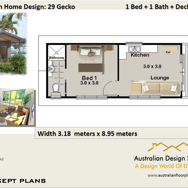 29 Gecko Free House Plan