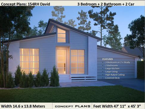 154David 3 Bedroom Kit-Home