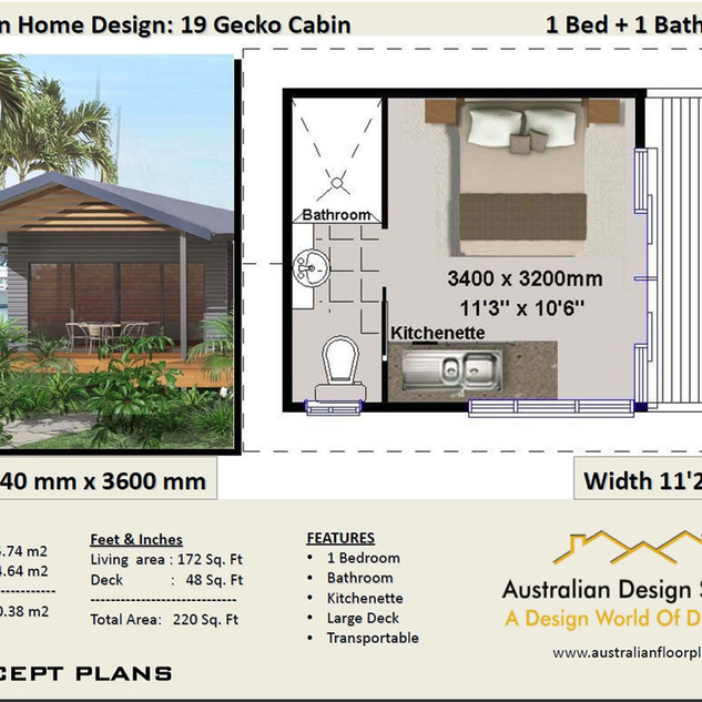 19 Gecko Free House Plan