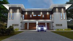 Duplex _ Town House Design