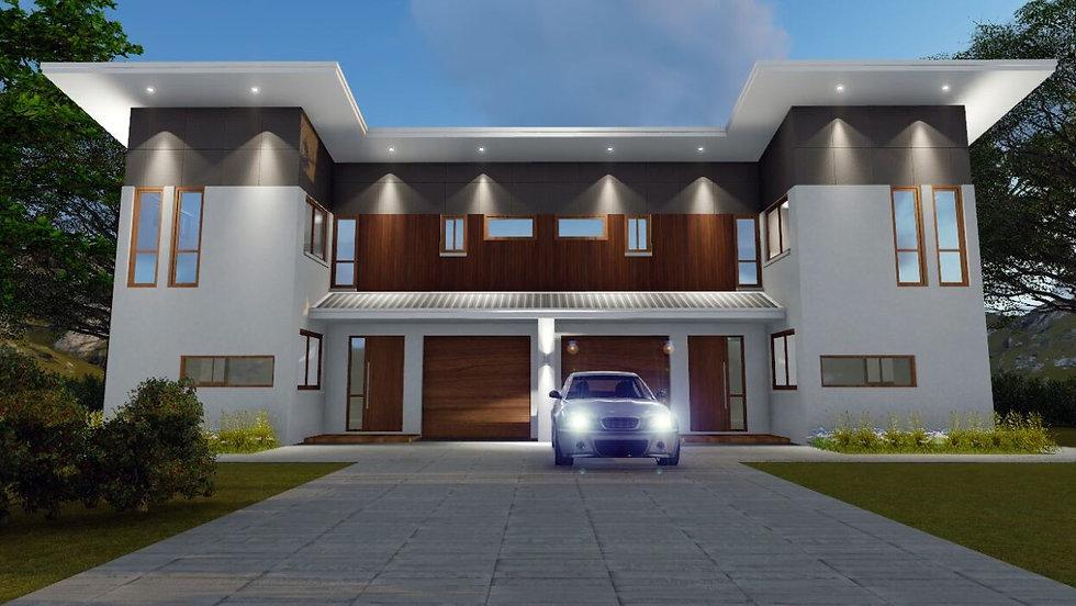 Duplex / Town House Design
