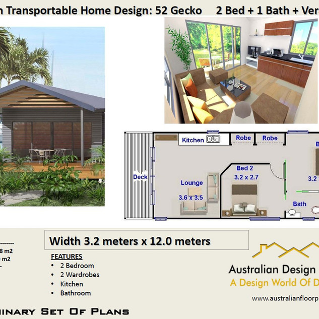 52 Gecko Free House Plan