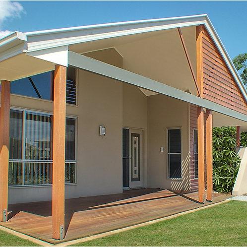 Australian 2 Bed House Plan -75 CLM :74.9 m2 | Preliminary House Plan Set Buy