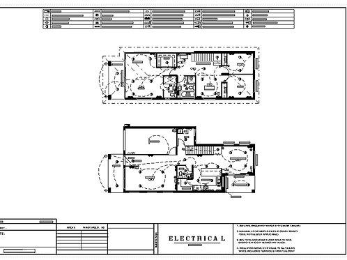 208.8 House Design - Electrical Plan