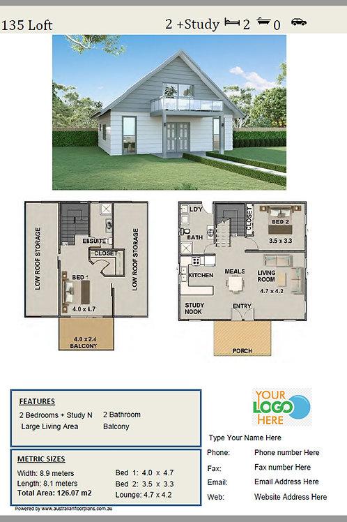 Loft Home Design: 135 Loft