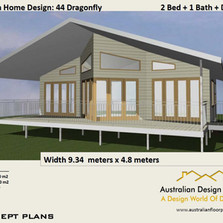 44 Dragonfly Free House Plan