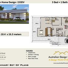 Country 3 Bedroom + Carport House Plan153