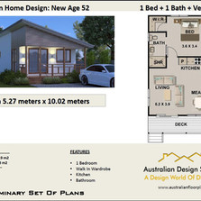 52.8 New Age Free House Plan