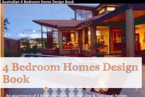 4 bedroom modern house plans