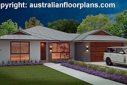 4 bedroom house plans one story  | 189 RES House Plan