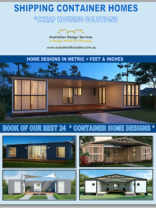 House Plans - Shipping Container Designs