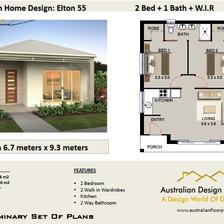 55 Elton Free House Plan