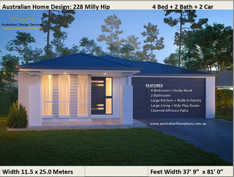 228 Milly Hip - Kit Home
