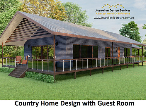 278 WH - 4 Bed Pole Home : 277.8 m2 | Preliminary House Plans