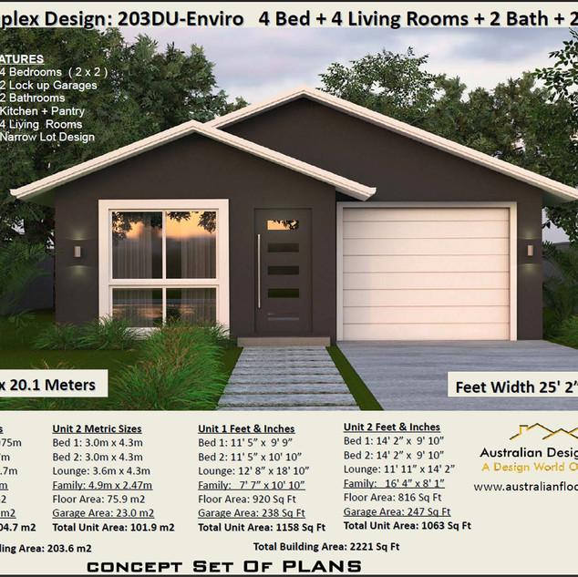 4 bedroom duplex-free version
