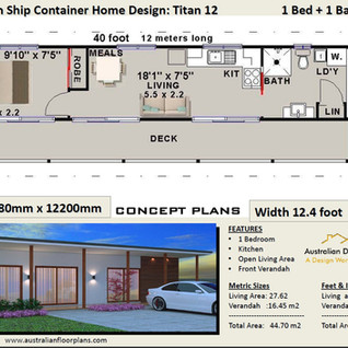 titian-40 Shipping Container Home Design