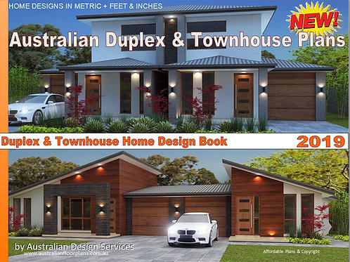 Australian Duplex & Townhouse Home Design E-Book