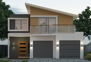 262_350 Narrow Lot House Plan