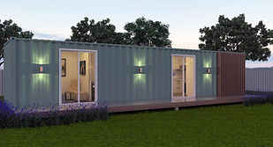 40 foot ship container home