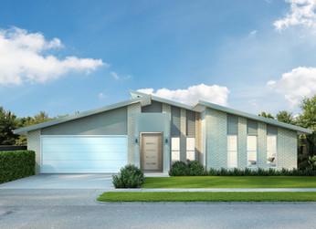 Modern Skillion Roof Home