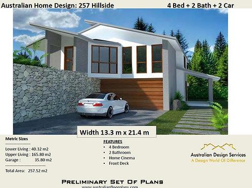 Australian Home Design: 257 Hillside