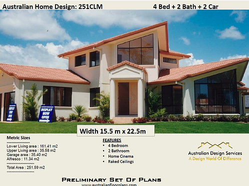 2 story house designs and floor plans | 251 CLM House Plans