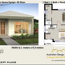 45 Elton Free House Plan