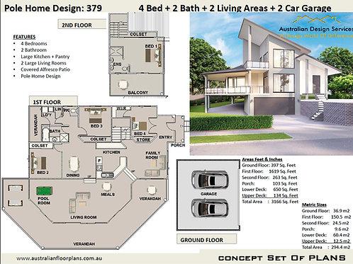 Pole Home Design: 379